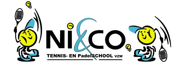 logo tennislessen Nico